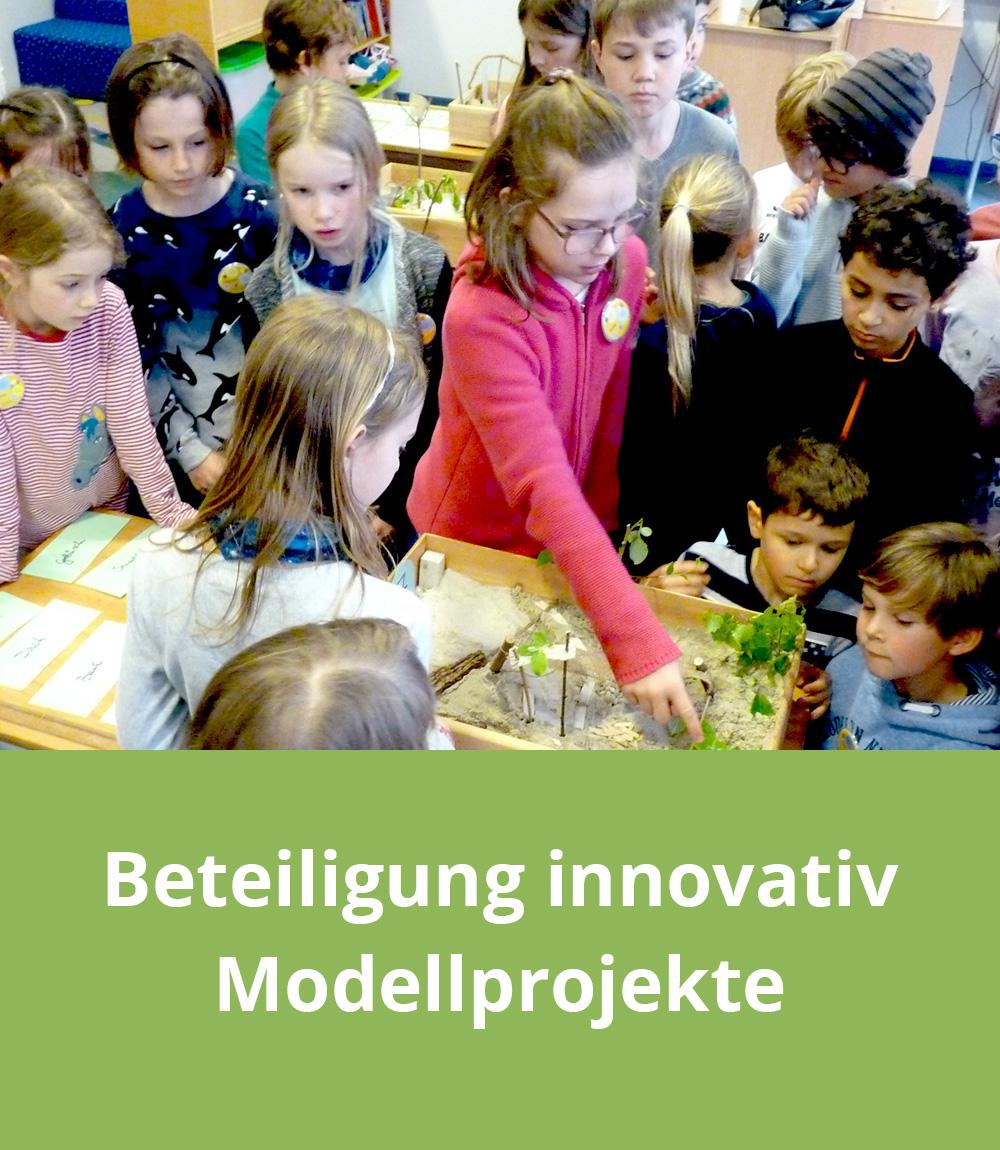Beteiligung innovativ – Modellprojekte